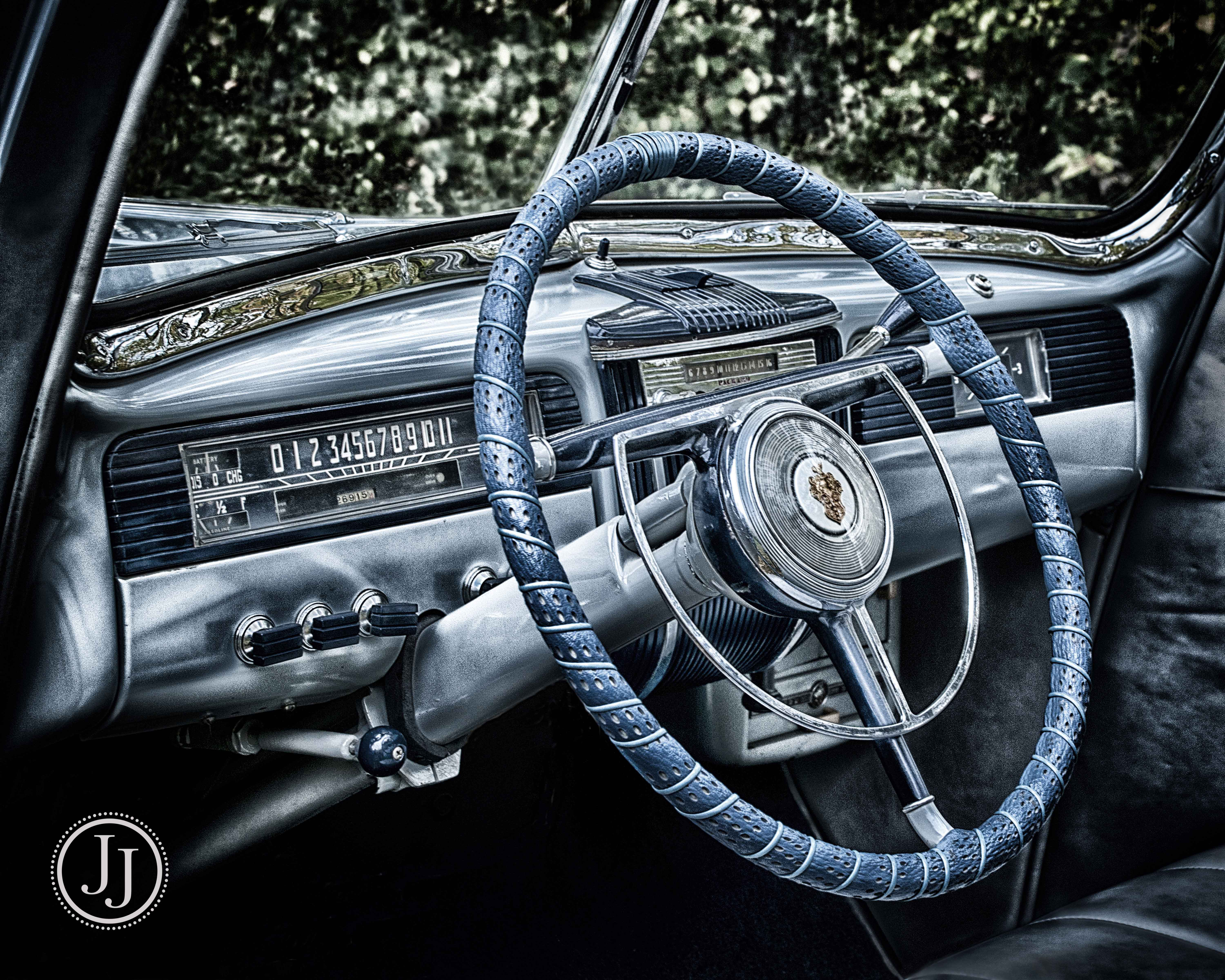 Dashboard To The Pastclassic Car Color My World Studio - Cool car dashboards